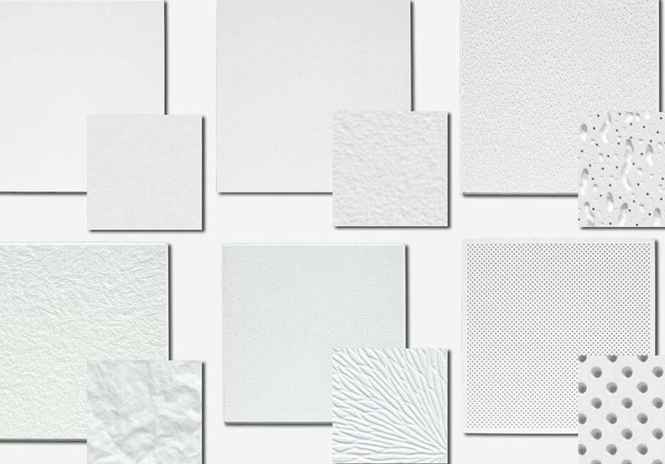 Tipos de tetos falsos em pladur (gesso cartonado/laminado)