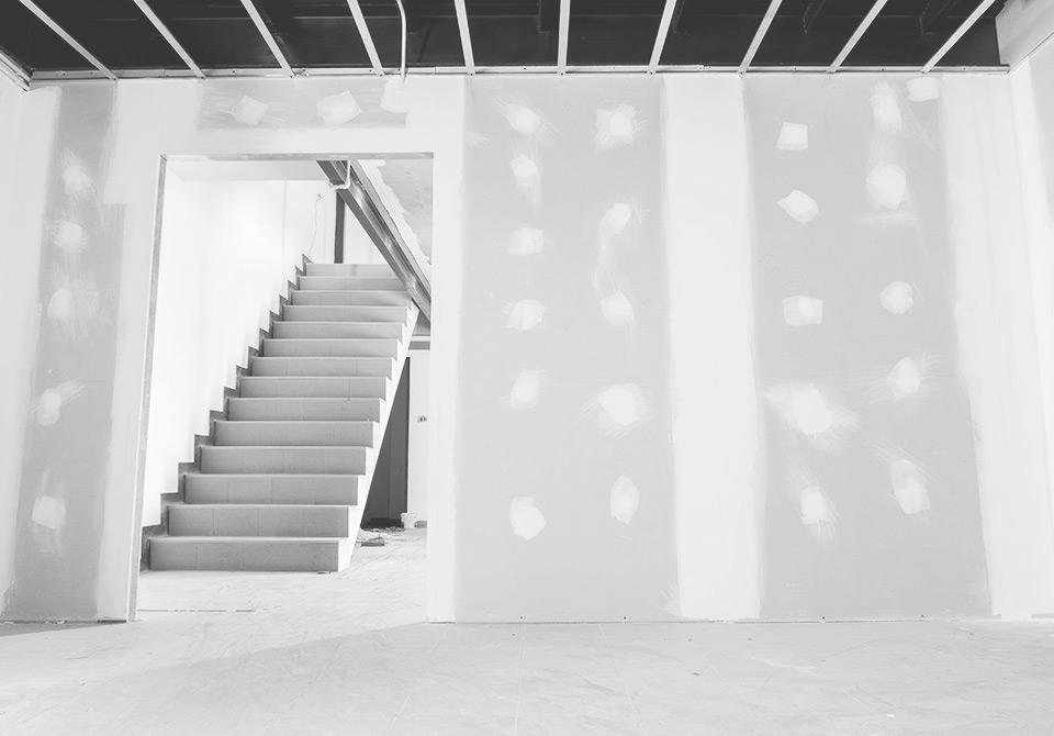 Divisórias em pladur para salas, quartos, cozinhas, casas de banho e escritórios