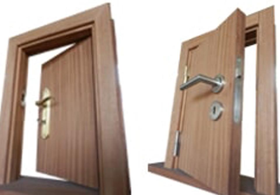 Aros para portas interiores: aduelas e guarnições